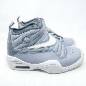 Nike Air Shake Ndestrukt Size 5Y Grey/White Shoes